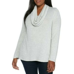 ND Women's Metallic Scarf Sweater Size XL / 0X NWT